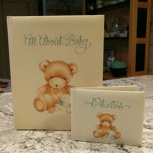 Vintage Baby Book and Photo Album